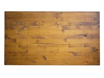 Hand made table top, solid wood. Royalty Free Stock Image