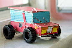 Hand made toy Stock Photos