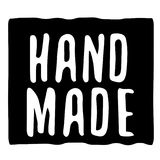 Hand Made typographic stamp. Typographic sign, badge or logo Royalty Free Stock Photos