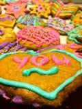 Hand made Valentine's Day cookies Stock Photo