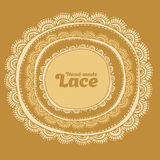 Hand made vector lase. Royalty Free Stock Photos