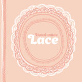Hand made vector lase. Royalty Free Stock Images