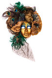 Hand Made Venetian Carnival Mask Royalty Free Stock Photo