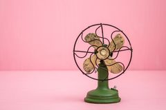 Hand Made Ventilator Antique Imitation Electric Fan Trinket Stock Image