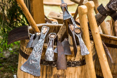 Hand made vintage tools Royalty Free Stock Photography