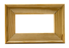 Hand-made wood frame Stock Photo