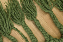 hand made wool braids Stock Images