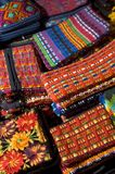 Hand made woven objects guatemala Stock Photos