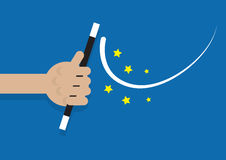 Hand Magic Wand Royalty Free Stock Images