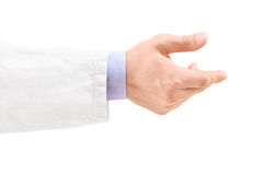 Hand of a male doctor Stock Photo