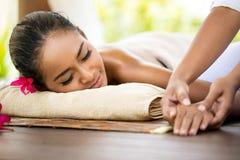 Hand massage Royalty Free Stock Photo
