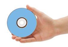 Hand met dvd Stock Fotografie