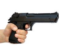 Hand met pistool Royalty-vrije Stock Foto's
