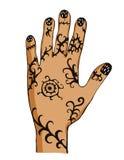 Hand met tekening Royalty-vrije Stock Afbeelding