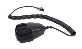 Hand Microphone and Cable Royalty Free Stock Photography