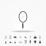 Hand mirror icon fashion set. Hand mirror vector icon fashion set royalty free illustration
