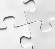 Hand with missing jigsaw puzzle piece. Business concept Stock Photo