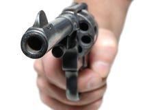 Hand mit Gewehr Lizenzfreies Stockbild