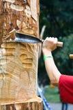 Hand mit Instrument Lizenzfreies Stockbild