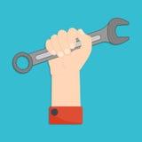 Hand mit Schlüssel Lizenzfreie Stockfotos
