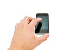 Hand mit Telefon Lizenzfreie Stockfotos