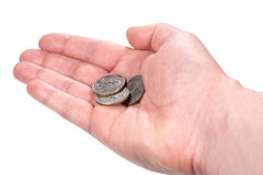 Hand with money Royalty Free Stock Image