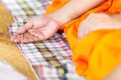 Hand monk. Royalty Free Stock Photos