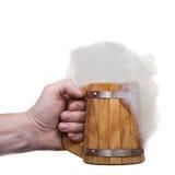 Hand with mug Royalty Free Stock Photography