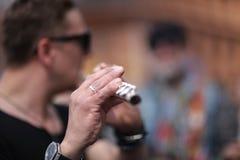 Hand musician Stock Photos