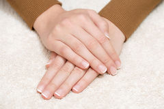 Hand and nail care Royalty Free Stock Images