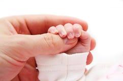 Hand newborn Royalty Free Stock Photos