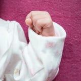 Hand of newborn baby Royalty Free Stock Image