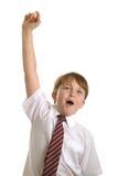 Hand oben Stockfotografie
