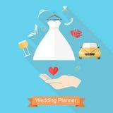 Hand och bröllop Royaltyfri Bild