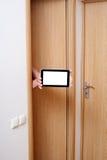 Hand- och tabletPC. Arkivbild