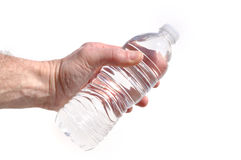Hand Offering a Bottle of Water Royalty Free Stock Photography