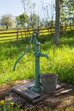 Hand operated water pump Royalty Free Stock Images