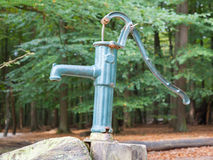 Hand operated water pump Stock Image