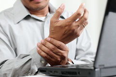 Hand Pain Royalty Free Stock Photos