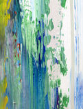 Hand painted abstract background Royalty Free Stock Images