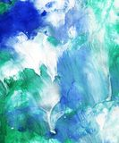 Hand painted abstract background stock photography