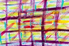 Abstract Tartan in Purple vector illustration