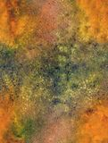Acrylic watercolor seamless background royalty free illustration