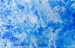 Hand painted blue watercolor abstract background royalty free stock images