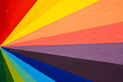 Hand painted colorful lines Royalty Free Stock Photos