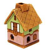 Hand-painted cottage. A Little hand-painted cottage Royalty Free Stock Image
