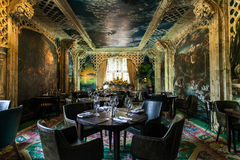 Hand Painted Dining Resturant Royalty Free Stock Photo