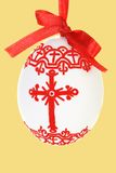 Hand Painted Easter Egg Stock Photography