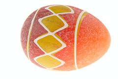Hand painted easter egg Stock Image