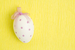 Hand painted easter egg Royalty Free Stock Image